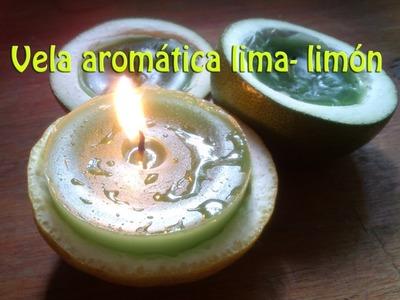 Hazlo tu mism@ DIY 9 : Como hacer velas aromáticas lima - limón
