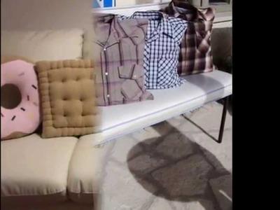 Ideas originales para hacer tus propios cojines o almohadones