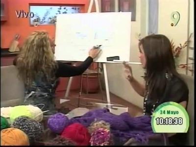 La belleza y el Arte de Tejer Luz Araneda nos ensea como hacer cuellitos