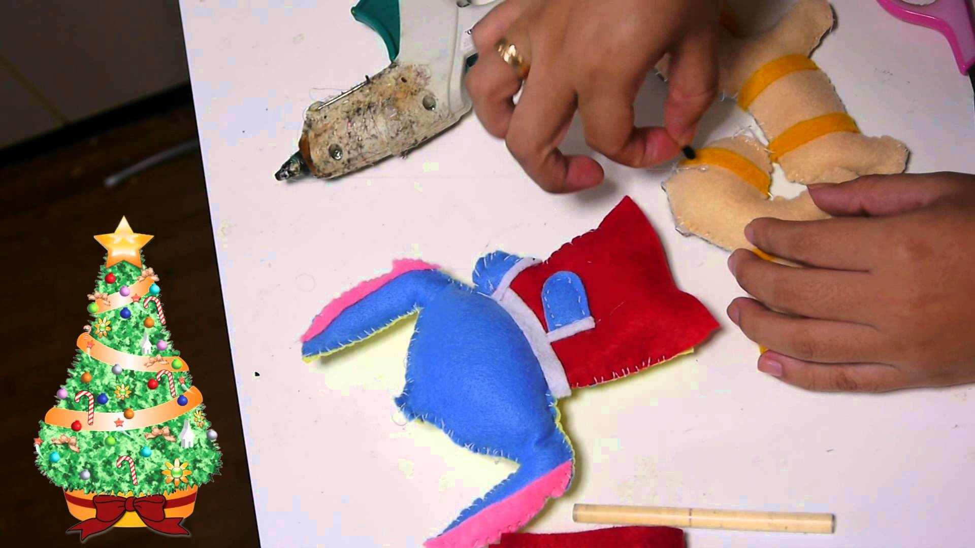 Manualidades Navideñas: Trineo con Stitch  -Juancarlos960