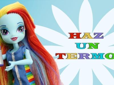 Manualidades para muñecas: Cómo hacer un termo para muñecas - EP 745