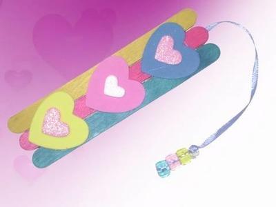 Marcapáginas de corazon