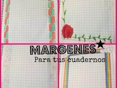 ✏⚝ Márgenes Para Tus Cuadernos ✎⚝