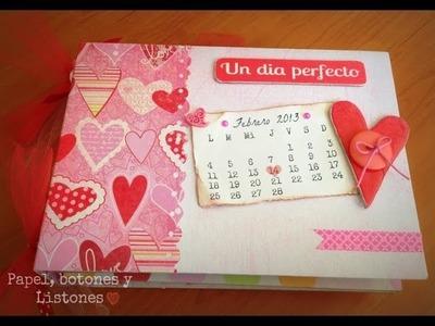 """Mini Album """"Dia de San Valentin"""""""