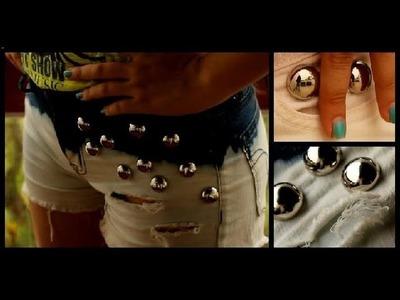 Recicla tus jeans viejos!!! Shorts desteñidos DIY