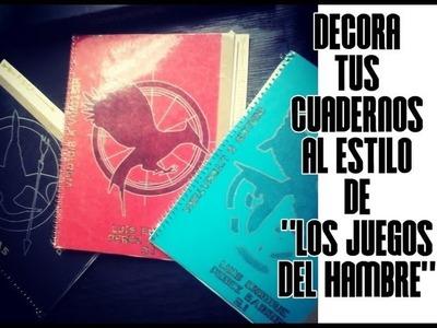 """Regreso a clases: Decora tus cuadernos al estilo de """"Los Juegos Del Hambre"""""""