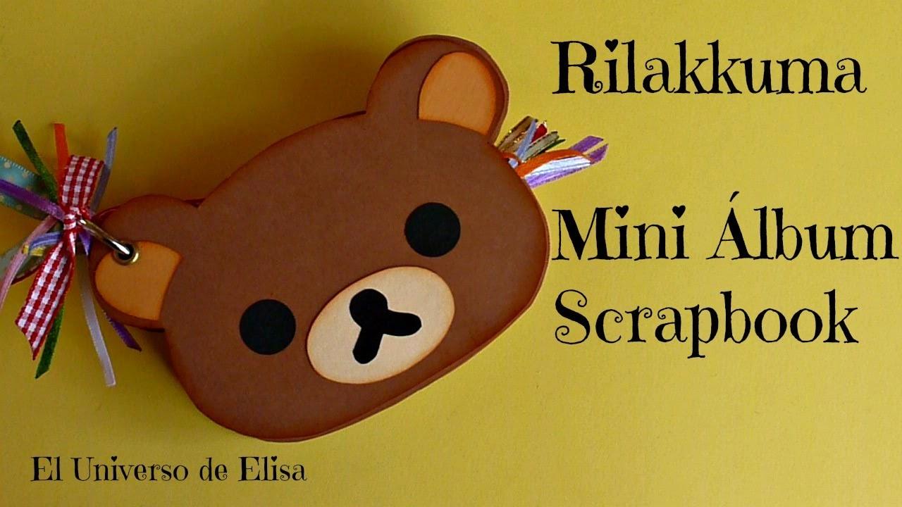 Rilakkuma Mini Álbum, Kawaii Scrapbooking Album Tutorial, Kawaii Crafts, Cute Scrapbook Ideas