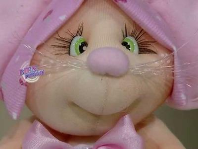 Silvia Nieruczkow - Bienvenidas TV en HD - Enseña a pegar ojitos y pestañas en muñecos soft