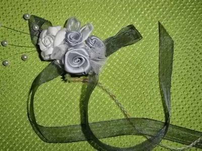 Tocados y flores para comunion