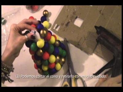 Tutorial: Arbolito de Navidad - Centro de Mesa