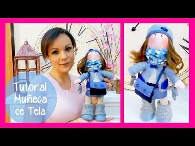 "Tutorial muñeca de tela ""estilo Gorjuss"" y SORTEO manualidades faciles para regalar o vender Isa ❤️"