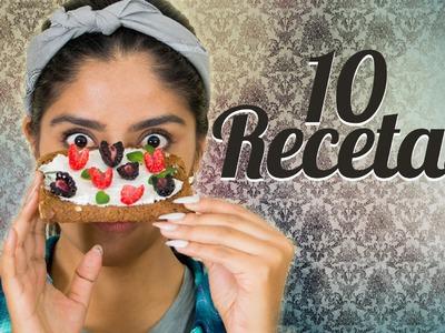 10 RECETAS PARA HACER EN 1 MINUTO | MUSAS | LOS POLINESIOS