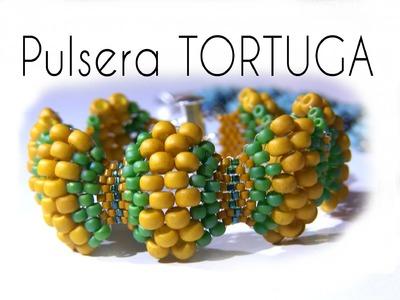 Abalorios - Tutorial Pulsera Tortuga