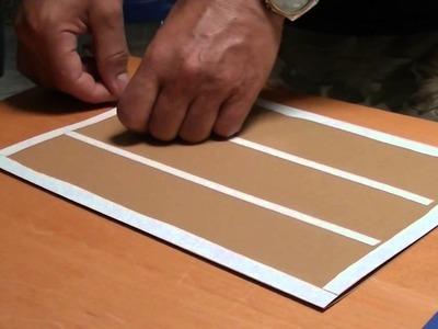 Aprende a hacer tu propio cuaderno DIY. 2 parte.