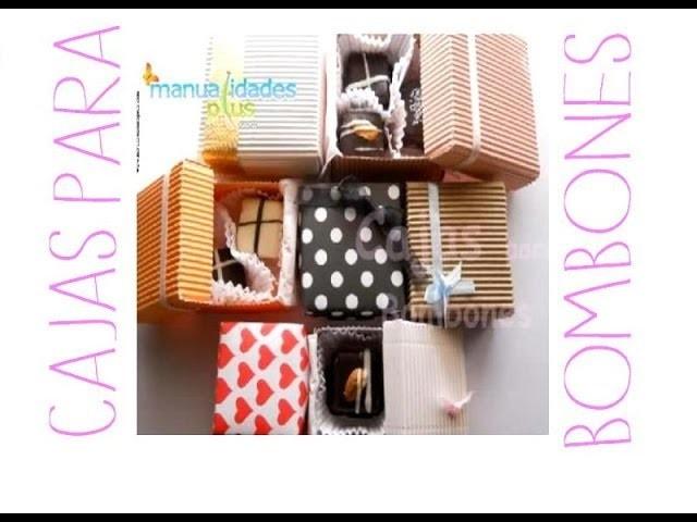 Cajas Decoradas Souvenirs Bombones 3 Tamaños!
