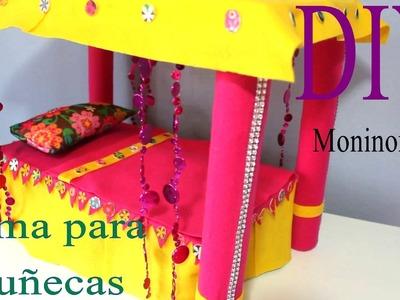 Cama para Muñecas Grandes - DIY