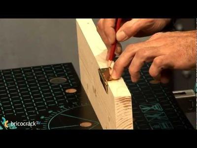 Carpintería: Poner bisagras de libro (BricocrackTV)