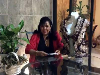 Chaleco Rueda - Tejiendo con Laura Cepeda