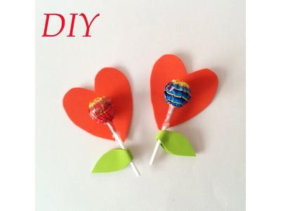 Chupachups para San Valentin, souvenir, detalle para celebracion. DIY