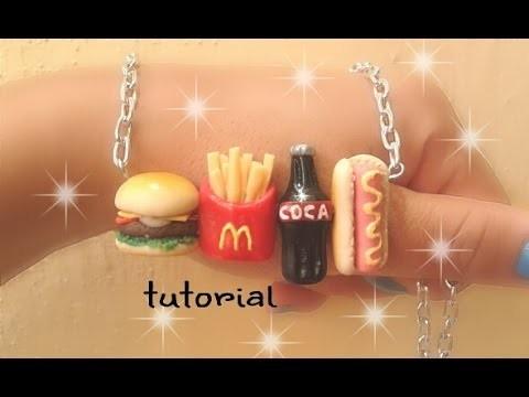 Collar comida rápida de