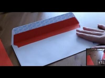 Cómo decorar el interior de un sobre | facilisimo.com