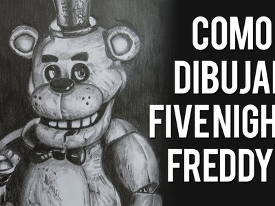 Como Dibujar Five Nights at Freddy's con Lapiz