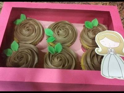 Como hacer cajas para cupcakes