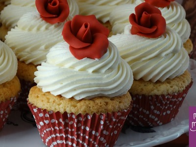 Como hacer cupcakes de chocolate blanco :: Cupcakes receta fácil