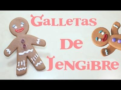 ➭ ¿Como Hacer Galletas de Jengibre? ✩ SHREK ✩ SÚPER FACILES ❄︎ SIN HUEVO - Miranda Ibañez
