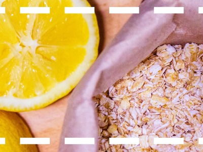 Cómo hacer mascarilla con avena y limón