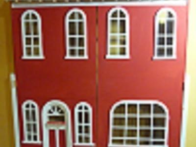 Como hacer un juguetero casa de muñecas, paso a paso, parte 1