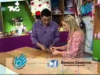 Cómo hacer un Llavero Mariposa (EC)