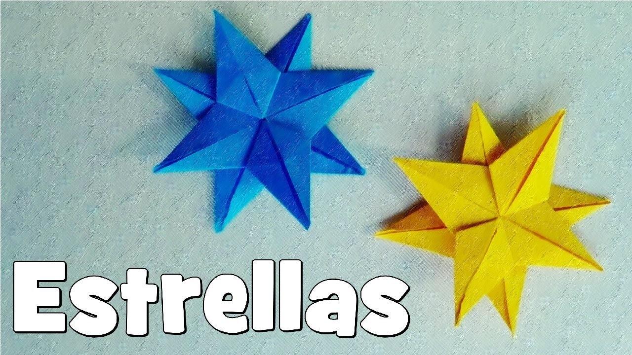 Cómo hacer una Estrella de Papel - Origami