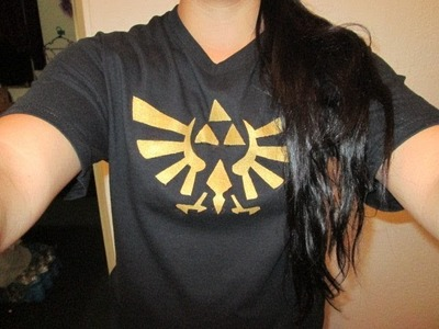 Como poner logos en camisetas The Legend Of Zelda
