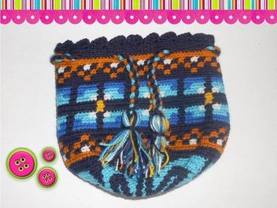 Como tejer una mochila Wayuu 1