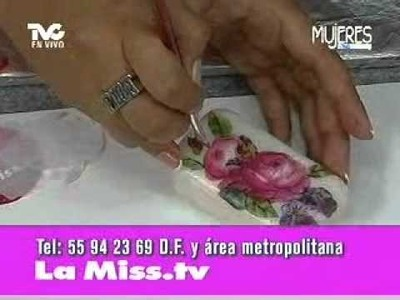 Decoupage en jabón, ceremonia (METVC)