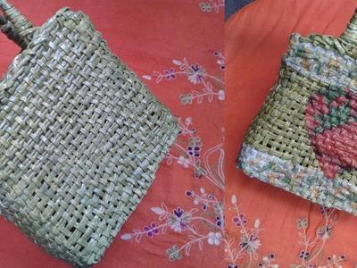 DIY:Decora.personaliza una canasta con servilletas de papel
