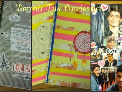 DIY: Decora Tus Cuadernos 3 Maneras Muy Faciles