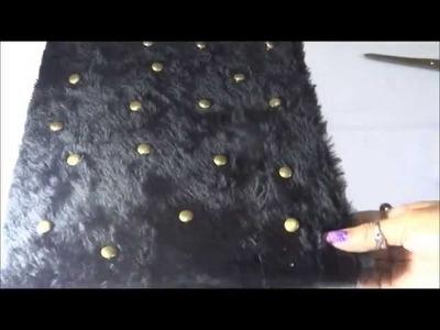 DIY♥ Hace una carpeta de peluche(FACIL) -Scupershop♥