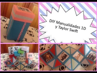 DIY Manualidades de One Direction y Taylor Swift
