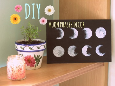 DIY | Moon Phases Decor ☾