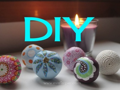 DIY pomos de puerta . Door knobs