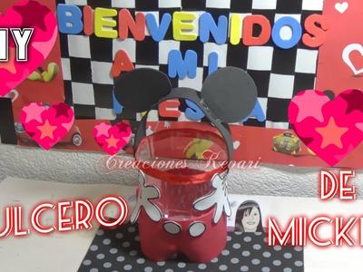 Dulcero de Mickey DIY Fiesta de Mickey
