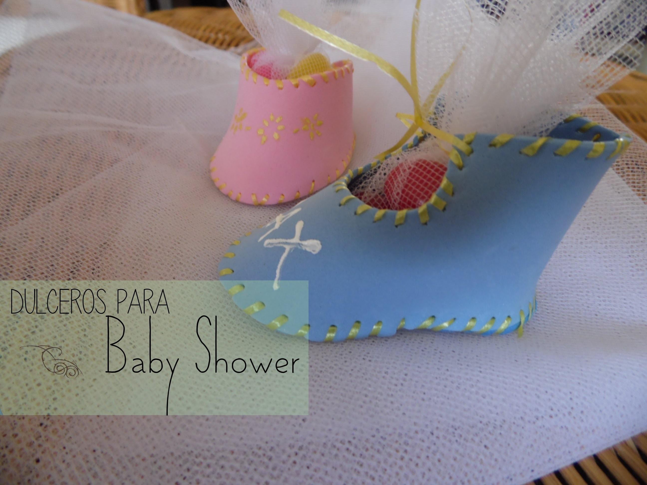 Dulcero para Baby Shower