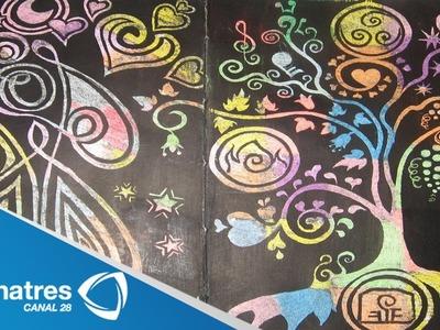Estas vacaciones aprende a hacer pintura mágica para los niños