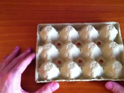 Manualidades: hacer manualidades con cartón de huevos - manualidades con material reciclado