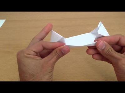 Manualidades origami: cómo hacer una nave espacial de papel - nave espacial de papiroflexia