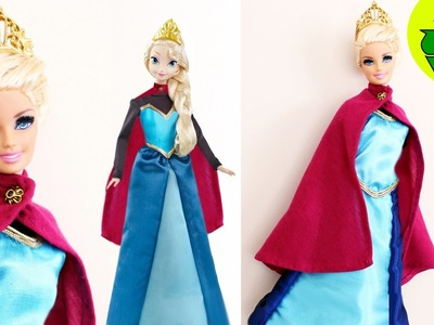 Manualidades para muñecas : Cómo hacer una el vestido de coronación para Elsa de la película Frozen