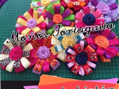 Moño Flor de Liston