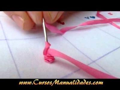 Puntadas básicas para Bordado de Paisajes (Video Completo, 20 puntadas)